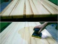 Столешницы из натурального массива дерева на заказ Изготовление на заказ столешн