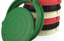 Люки полимерно- композитные для смотровых колодцев