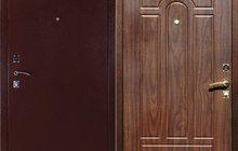 Входная дверь Йошкар-Ола Стандарт 2 (фреза орех) бесплатная установка
