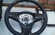Карбоновый руль(углеволокно) BMW X5