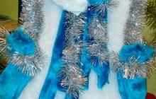 Новогодний костюм «Снеговик» в отличном состоянии