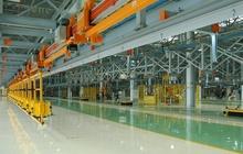 Полимерный промышленный наливной пол