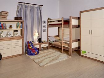 Просмотреть изображение Мебель для детей 2-х ярусная кровать 32457505 в Ростове-на-Дону