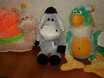 Свежее фото Детские игрушки Мягкие игрушки, Оригинальные модели 33709966 в Ростове-на-Дону