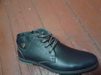 Просмотреть foto Мужская обувь Кожаные зимние ботинки мужские от производителя 34066423 в Ростове-на-Дону