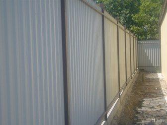 Смотреть фотографию Ландшафтный дизайн Заборы из бетона,металла,навесы,ограждения, 34693008 в Ростове-на-Дону