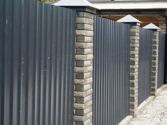 Увидеть foto Ландшафтный дизайн Заборы из бетона,металла,навесы,ограждения, 34693008 в Ростове-на-Дону