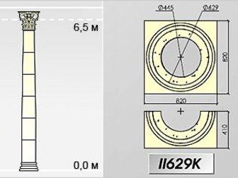 Просмотреть фотографию Дизайн интерьера Колонны Архикамень 34700189 в Ростове-на-Дону