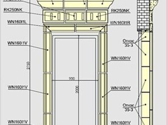 Уникальное фото Дизайн интерьера Дверные обрамления Архикамень 34701298 в Ростове-на-Дону