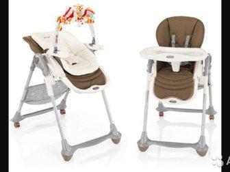 Просмотреть фотографию  Новый стульчик для кормления Brevi Италия из экокожи 35092783 в Ростове-на-Дону