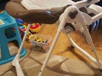 Смотреть изображение  Новый стульчик для кормления Brevi Италия из экокожи 35092783 в Ростове-на-Дону