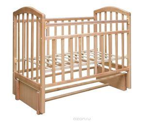 Скачать фото Мебель для детей Кровать детская Алита, продол, маятник, цвет бук 37583021 в Ростове-на-Дону