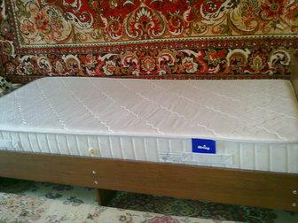 Увидеть фото Мебель для спальни Продается кровать новая с матрасом 37606549 в Ростове-на-Дону