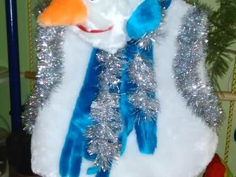 Увидеть foto  Новогодний костюм «Снеговик» в отличном состоянии, 37984554 в Ростове-на-Дону