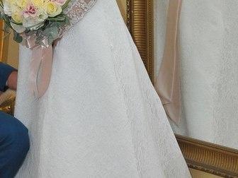 Уникальное фото Свадебные платья Свадебное платье А-силуэт 38503691 в Ростове-на-Дону