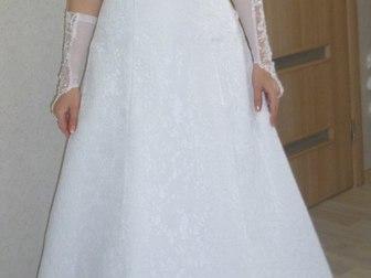Скачать бесплатно фотографию Свадебные платья Свадебное платье А-силуэт 38503691 в Ростове-на-Дону