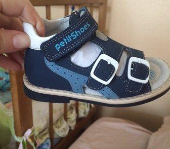 Фото в Для детей Детская обувь Кожаные босоножки на мальчика Petit shoes в Ростове-на-Дону 2000