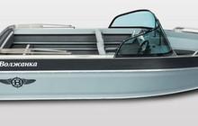 Купить лодку (катер) Волжанка 55 Двухконсольная