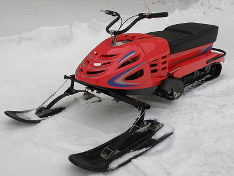 Для рыбалки недорогой снегоход