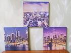 Смотреть изображение  Комплект из трёх модульных картин в стиле Urban, 70245451 в Самаре