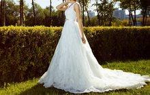 Шикарное свадебное платье 42-46