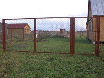 Новое изображение Строительные материалы Продаем садовые металлические ворота от производителя 33233479 в Самаре