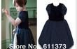 Продам: Платье для девочки синее, нарядное,