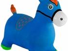 Смотреть фото  Лошадь-прыгунок синяя KID-HOP - это мечта 34419552 в Санкт-Петербурге