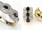 Свежее foto  Серебряный комплект с натуральными сапфирами и бриллиантами, 38015860 в Санкт-Петербурге