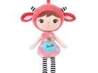 Мягкая кукла Smile красная (50 см)