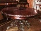 Старинная антикварная мебель, антиквариат, буфет, стол