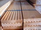 Продаем доску вельвет для террасы из древесины лиственницы от изготовителя