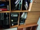 Увидеть foto Офисная мебель Офисная мебель б/у, шкафы, столы, тумбы, хорошее состояние 66572571 в Санкт-Петербурге