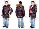Просмотреть foto Детская одежда Зимняя детская куртка на пуху «Аляска» шоколад 68271137 в Санкт-Петербурге