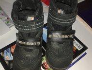 Продам ботиночки minimen на мальчика Продам ботиночки minimen на мальчика, байка