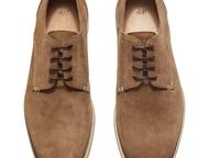Ботинки, полуботинки мужские Ботинки мужские дерби из натуральной замши.   Цвет: