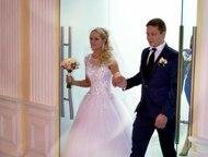 Продам шикарное б/у свадебное платье Продам шикарное не венчаное белоснежное, св