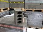 Скачать фотографию  Пескобетонные блоки / Пескоблок / 380х188х190 мм 68124593 в Саранске