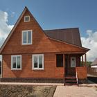 Дом из клееного бруса за месяц