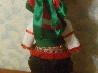 Скачать бесплатно фото Коллекционирование Кукла - мордовка, национальный костюм 32846707 в Саранске