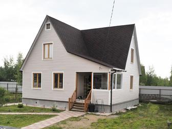 Смотреть фото  Дом из клееного бруса за месяц 37798717 в Саранске