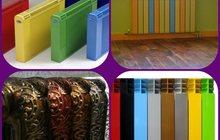Окраска и декор радиаторов отопления