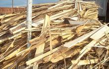 Обрезки сосновые на дрова