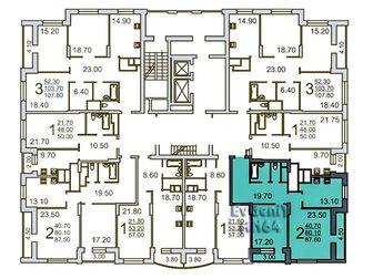 Новое изображение  2-комнатная квартира в новом доме на Чернышевского 32604560 в Саратове
