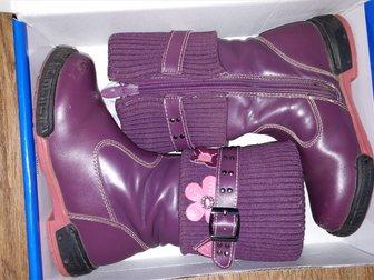 Смотреть foto Детская обувь Продам сапожки осенние на девочку 33269931 в Саратове