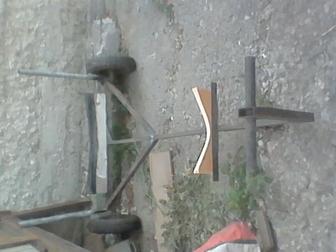 Просмотреть изображение  лодочный прицеп для перевозки лодки в ручную 66385799 в Саратове