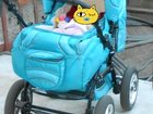Коляска детская anabel baby цвет бирюза
