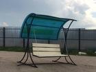 Уникальное foto Строительные материалы •Продам садовые качели 38791429 в Серпухове