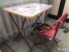 Детский столик и стульчик Маша и медведь