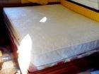 Свежее фото Мебель для спальни Продам двухспальную кровать с двумя матрасами 80890760 в Севастополь